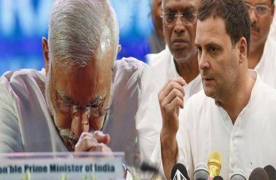 On Rafale deal, Rahul Gandhi questions PM Modi's integrity, calls him 'corrupt'