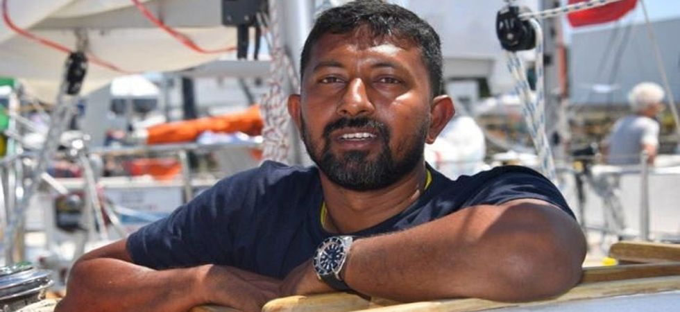 Indian Navy Commander Abhilash Tomy rescued by French vessel after Golden Globe Race injury (Photo: Twitter)