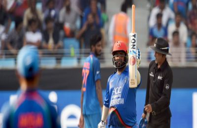 IND vs AFG: Rashid Khan defends seven to pull off last-ball tie