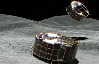 Japan's MINERVA-II1 rovers send pictures after landing on asteroid Ryugu