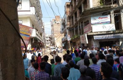 Delhi: Four children killed in building collapse in Ashok Vihar