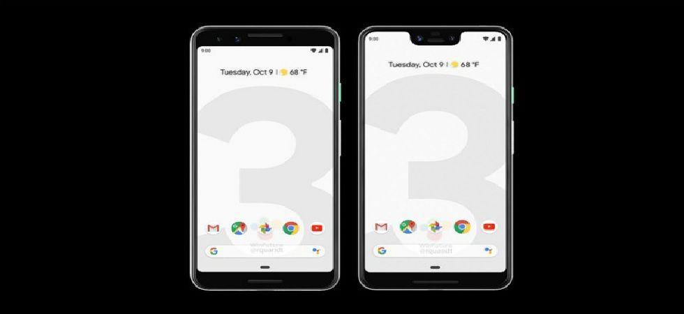 Google Pixel 3, Pixel 3 XL launch nears; fresh renders reveal black, white colour variants (Image: Twitter)
