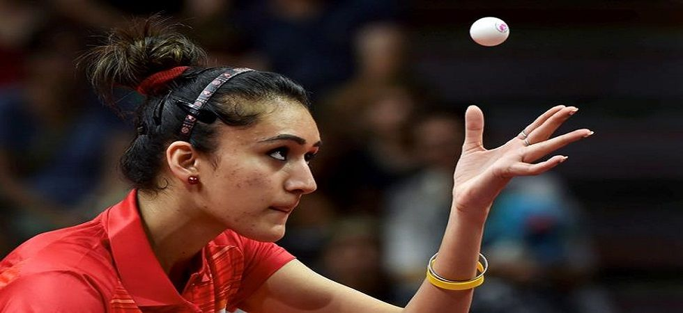 Under Massimo Costantini's guidance, Manika Batra won the women's singles gold at Commonwealth Games in Gold Coast early this year (Photo: PTI)