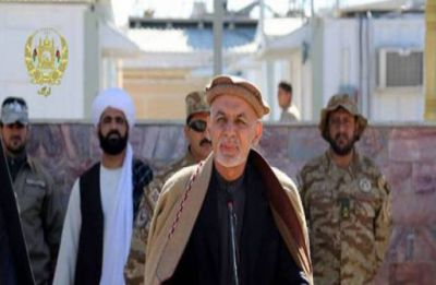 Rockets hit Afghan city during president's visit: Officials
