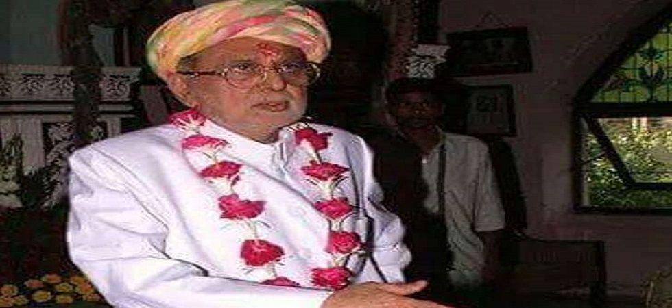 Ex-Gujarat finance minister Manoharsinh Jadeja dies at 83 (File Photo- Twitter)