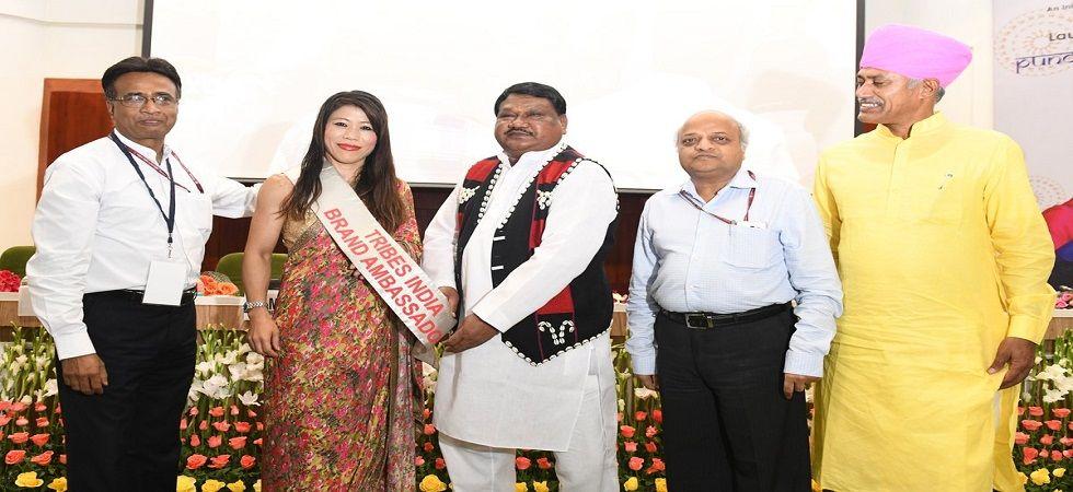 Mary Kom named brand ambassador of Tribes India (Photo- Twitter/@PIB_India)