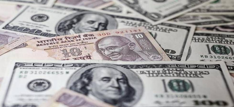 Re strengthens by 22 paise against dollar in early trade (file photo)