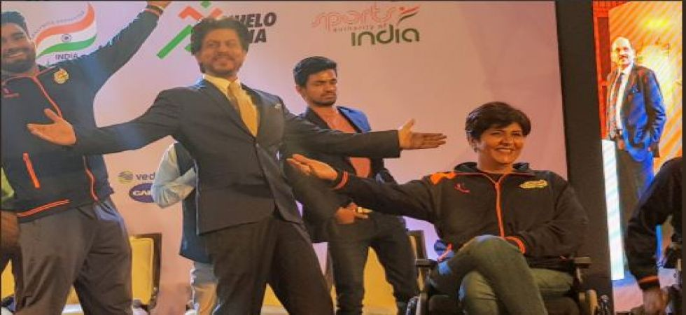 Shah Rukh Khan: I am the ambassador of Paralympic sports in India (Twitter photo)