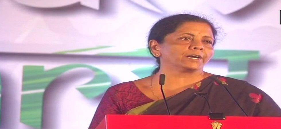 Defence Minister Nirmala Sitharaman (Photo- Twitter/ANI)