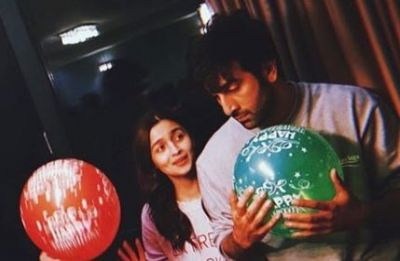 Alia Bhatt's 'Sunshine' will brighten up your day! Happy Birthday Ranbir Kapoor