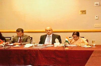Sushma Swaraj at UNGA: Peace, security in South Asia essential for progress