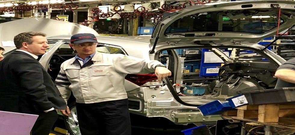 Toyota warns no-deal Brexit would stall output at UK plant (Photo- Twitter/@ChrisLeslieMP)