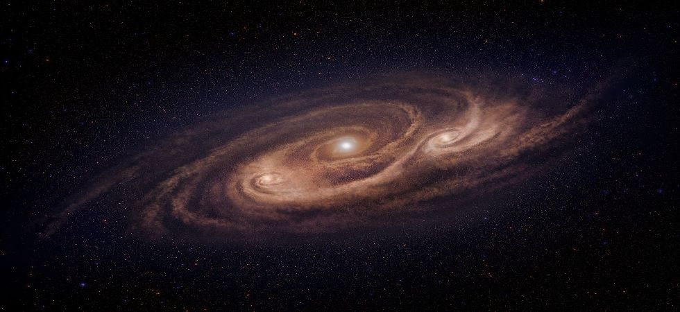 Stars in Milky Way moving 'like ripples on pond', says European Space Agency (Image: Twitter)