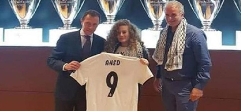 Real Madrid accused of 'encouraging aggression' by Israeli officials (Photo: Twitter)