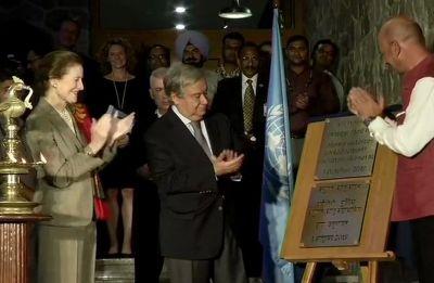 UN Secretary General Antonio Guterres arrives in Delhi, to meet PM Modi