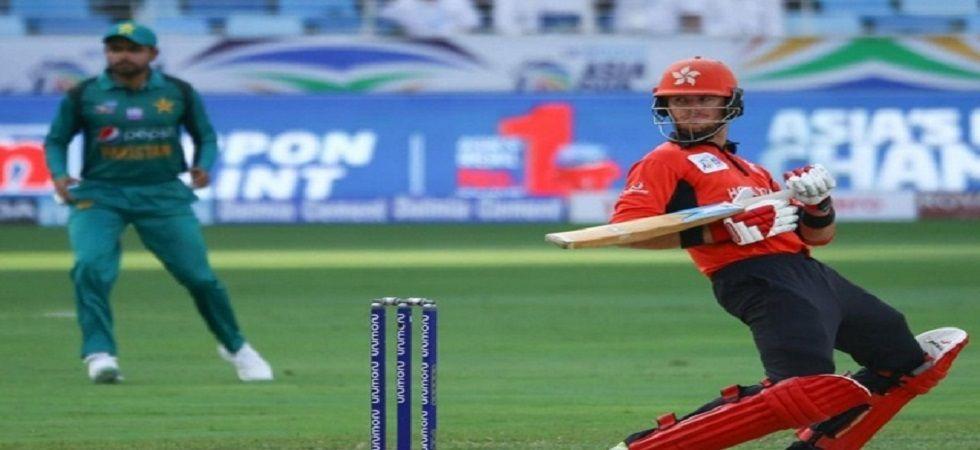 Hong Kong's wicket-keeper-batsman Christopher Carter