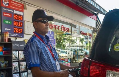 Petrol price surges to Rs 83.85 litre in Delhi,  Rs 91.20 in Mumbai