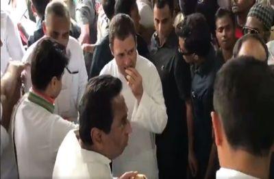 Watch | Sonia Gandhi, Rahul Gandhi wash plates at Sevagram to epitomise Gandhism
