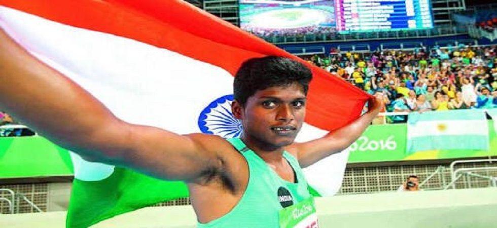 Thangvellu Mariyappan named India's flag-bearer for Asian Para Games (Photo- Twitter/@pccai_in)