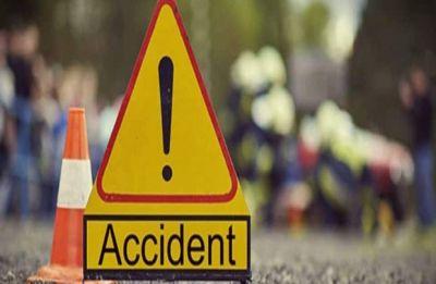 Jharkhand: One pilgrim killed, 47 injured after bus overturns in Dumka