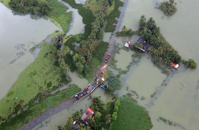 Red alert in 3 Kerala districts with forecast of heavy rain; CM Pinarayi Vijayan seeks Centre's help