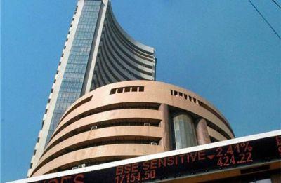 Sensex falls 200 points, Nifty slips below 11,000