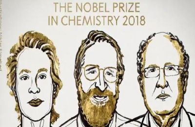 Nobel Prize in Chemistry awarded to Frances Arnold, George Smith, Gregory Winter for 'Power of Evolution'