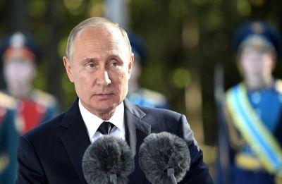 Putin brands poisoned spy Skripal a 'traitor' and 'scumbag'