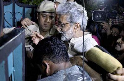 Bhima-Koregaon Case: Maharashtra govt moves SC against Delhi HC order ending house arrest of activist Gautam Navlakha