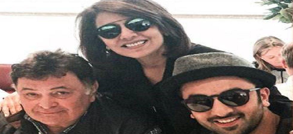 Real reason Why Ranbir, Rishi and Neetu not present at Krishna Raj Kapoor's funeral (Twitter)