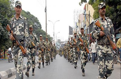 Elections: Centre sends 25,000 paramilitary, police personnel for Chhattisgarh, MP, Rajasthan