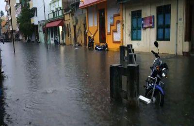 Heavy rains lash Puducherry, daily life hit; warning sent to fishermen