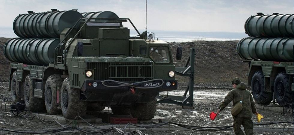 The S-400 Triumf air defence system (File Photo)