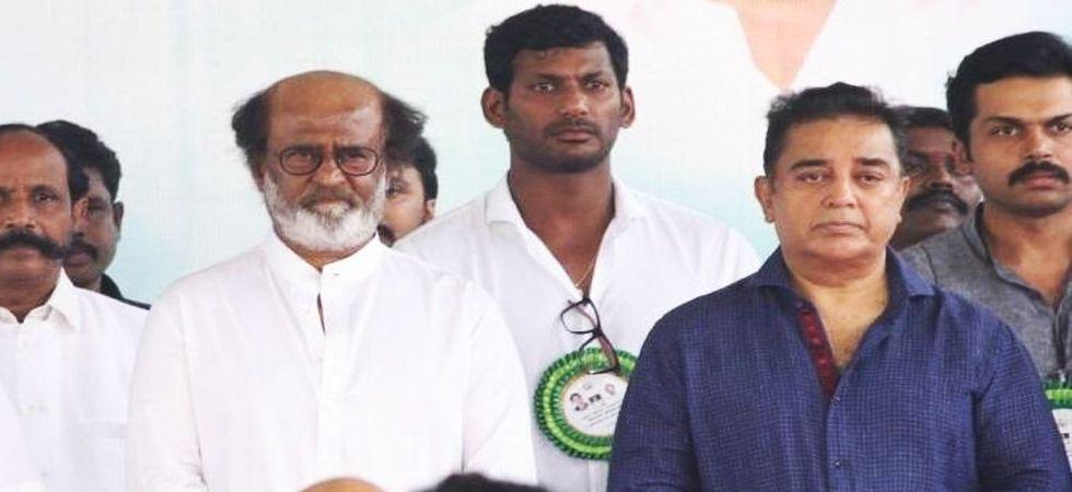 Can film stars fill the vacuum in Tamil Nadu politics (Photo: Twitter)