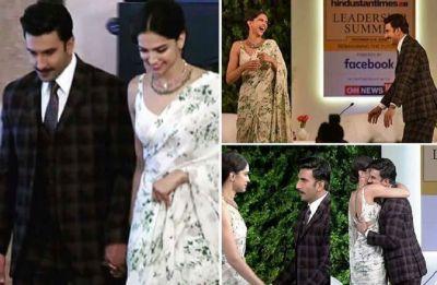 Deepika Padukone and Ranveer Singh enter Mumbai airport hand in hand setting major relationship goals!