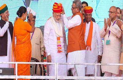 In Ajmer, PM Modi slams Congress, says it plays vote-bank politics