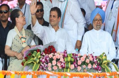 Rahul Gandhi in MP: Congress chief holds road show in Jabalpur; huge crowd extends love, supports