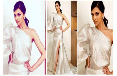Deepika Padukone is all glitz and gloss at a recent award ceremony; bags the 'Global Beauty Star' title