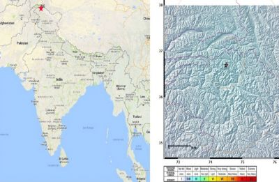 Earthquake in Jammu and Kashmir, no damage reported yet