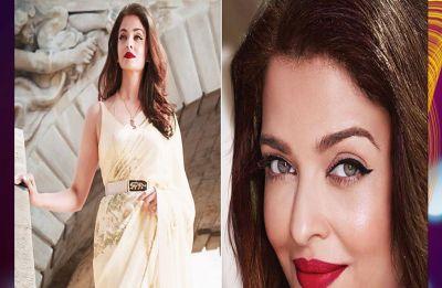 Aishwarya Rai Bachchan exudes elegance in this floral Sabyasachi sari