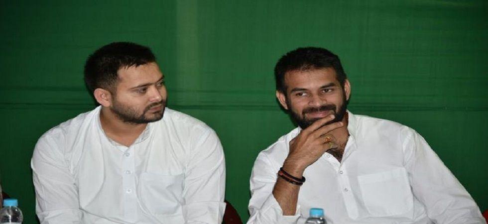 Rift between Tejashwi Yadav and Tej Pratap? (File photo/Twitter)
