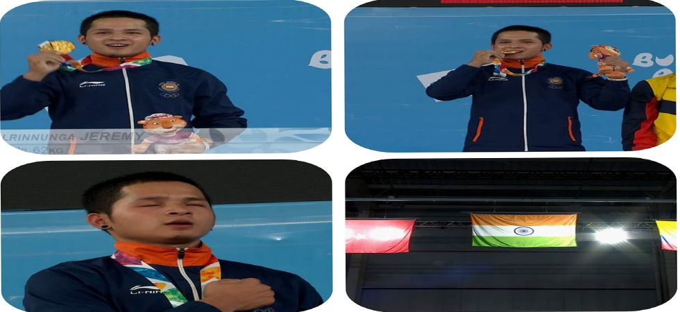 Youth Olympics: Weightlifter Jeremy Lalrinnunga creates history by bagging India's first gold medal (Photo: Twitter)
