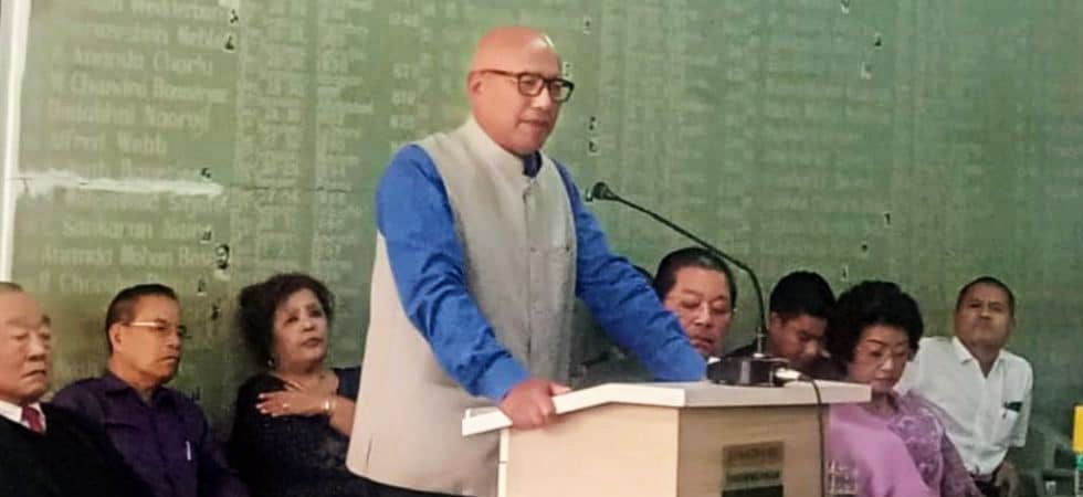 Former Mizoram IGP LT Hrangchal joins Congress, may contest elections (Photo: Twitter)