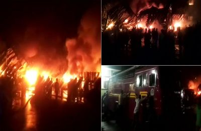Thane: Rubber factory gutted in fire, no casualty reported