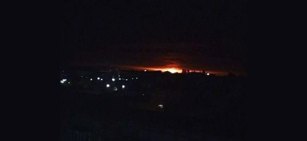 Ukraine: 10,000 people evacuated after explosions at ammunition depot (Image: Instagram)