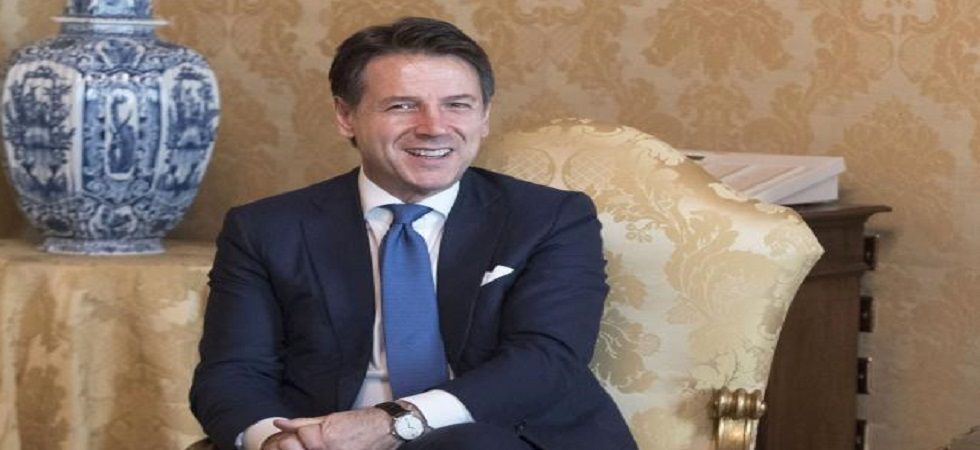 Italian PM Giuseppe Conte (Photo- Official site)