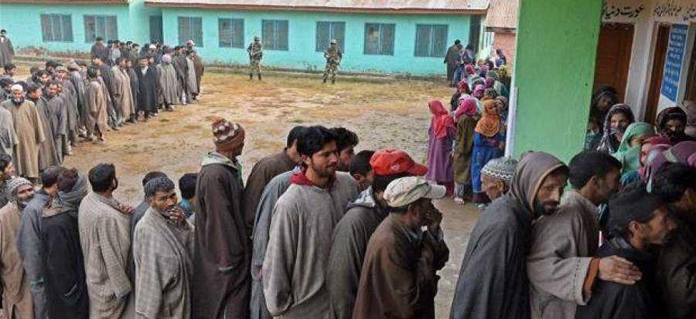 Kashmir registers 3.4 percent voter turnout (File/PTI)