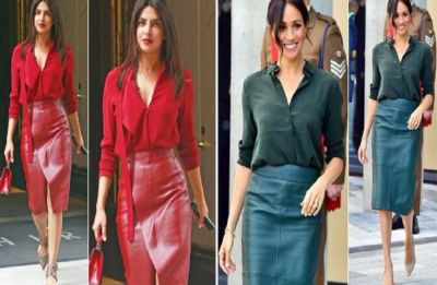 Priyanka Chopra just copied BFF Meghan Markle's Monochrome Style!