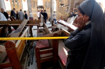 Egypt court sentences 17 to death for attacking Christians