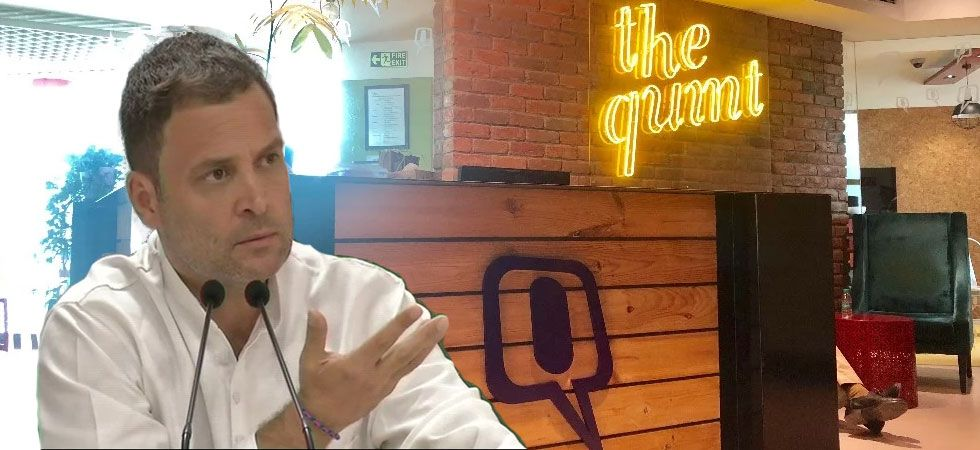IT raids at 'The Quint' office Modi government's attempt to suppress freedom of speech (Photo: Twitter/Quint)
